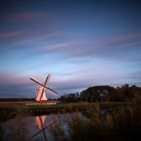 Dutch Windmill Glimmen