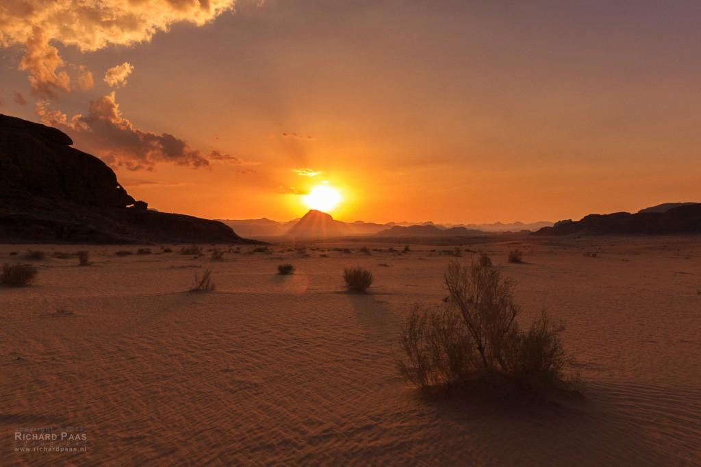 Sunset Wadi Rum - Jordan