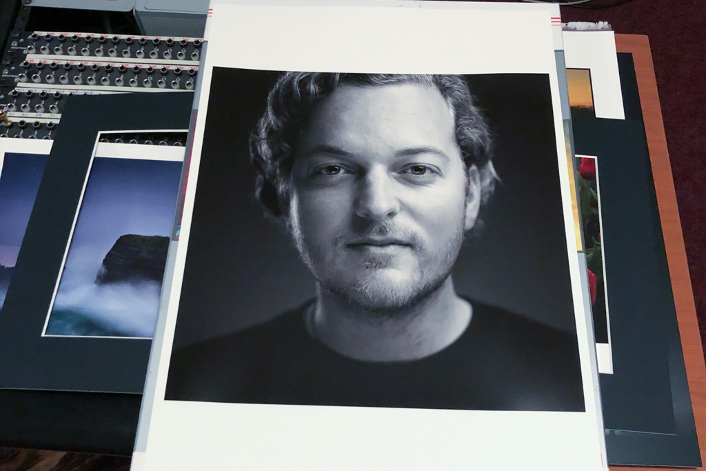 Portrait printed on Canson Baryta Prestige 340gsm