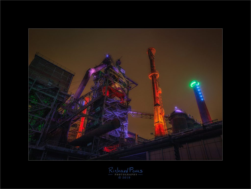 Adventure in Landschaftspark Duisburg Nord