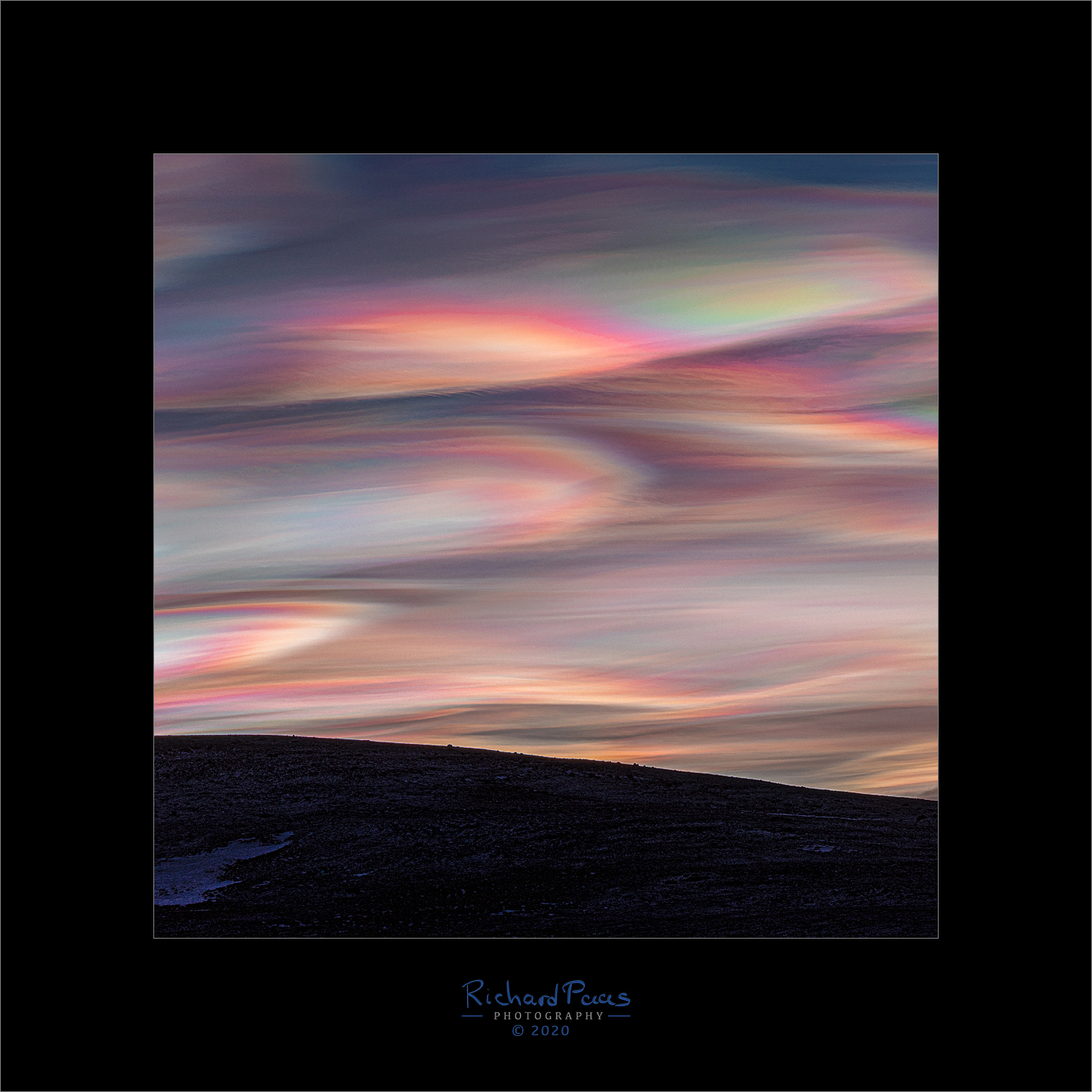 Polar Stratospheric Clouds (PSC's) Arctic Light Adventure  Iceland